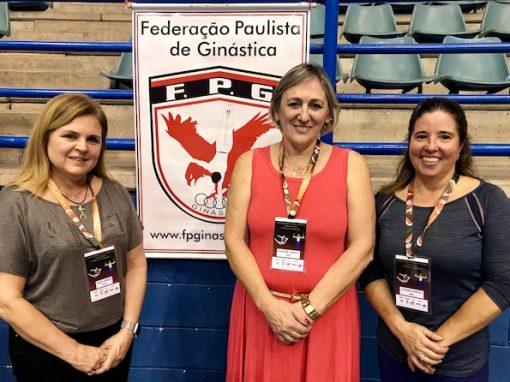 FPG realiza 31 competições em 2018: 24 estaduais, 6 brasileiros e nacionais e 1 regional, o Sudeste de GR