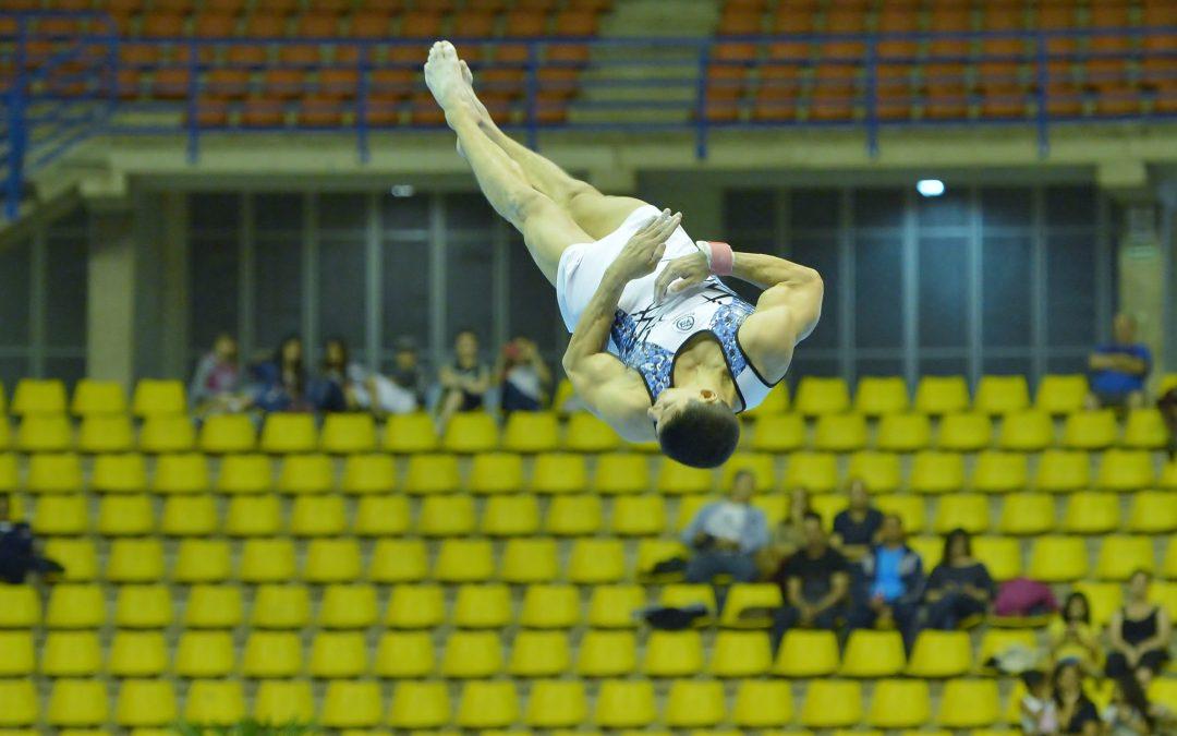 Santos recebe estrelas da ginástica artística no Brasileiro de Especialistas