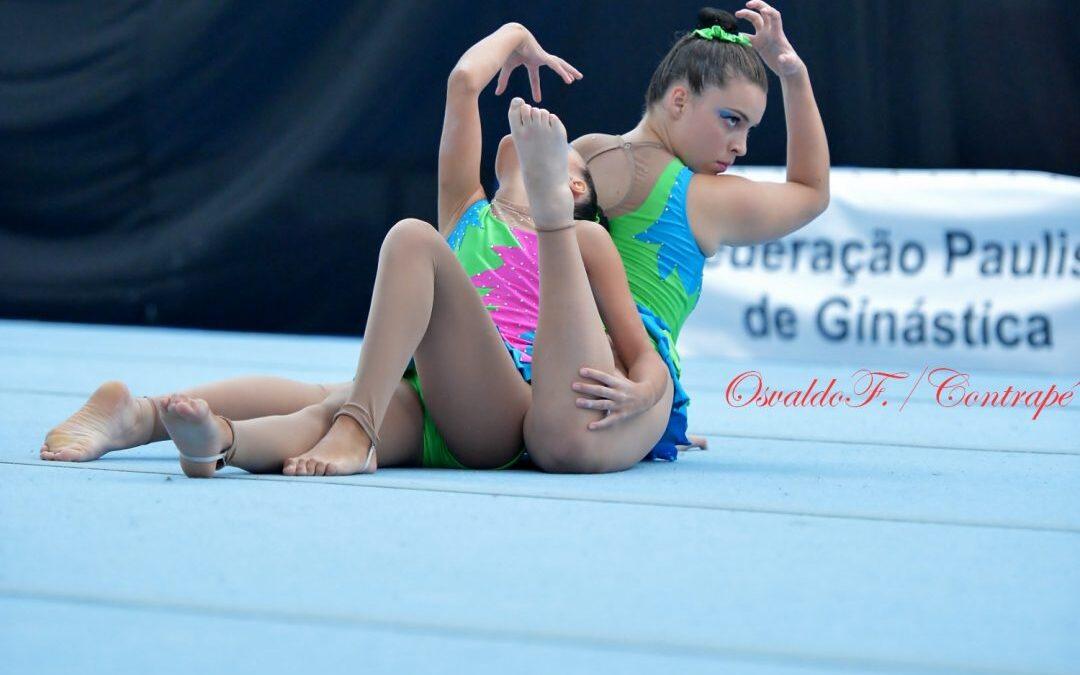 Campeonato Brasileiro Caixa e Torneio Nacional de Ginástica Acrobática têm balanço positivo